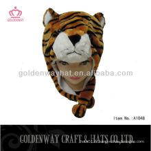 Chapeau d'hiver de tigre pas cher