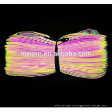 Different Color Reflective Piping for Clothing/Bag/Shoe/Cap