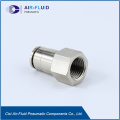 Air-Fluid Brass Straight Female Thread Fittings