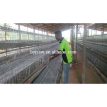Cages de batterie de prix d'équipement de ferme des animaux