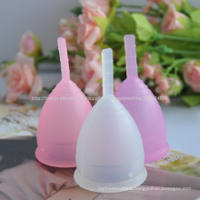 2017 Factory menstural cup menstrual cups medical silicone