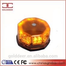 Amber Magnetic Led Warning Light Car Beacon Light