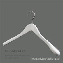 Big Shoulder Wodoen White Black Flocked Shoulder Hanger