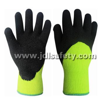 Hola-Viz acrílico trabajo guante con recubrimiento de látex 3/4 (LY2037) (CE aprobado)
