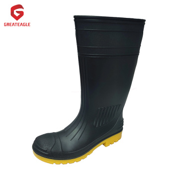Grosir PVC Safety Rain Gumboot