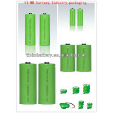 Rechargeable Battery AAA (ni-mh rechargeable battery ) AA/AAA/C/D/9V size OEM welcomed