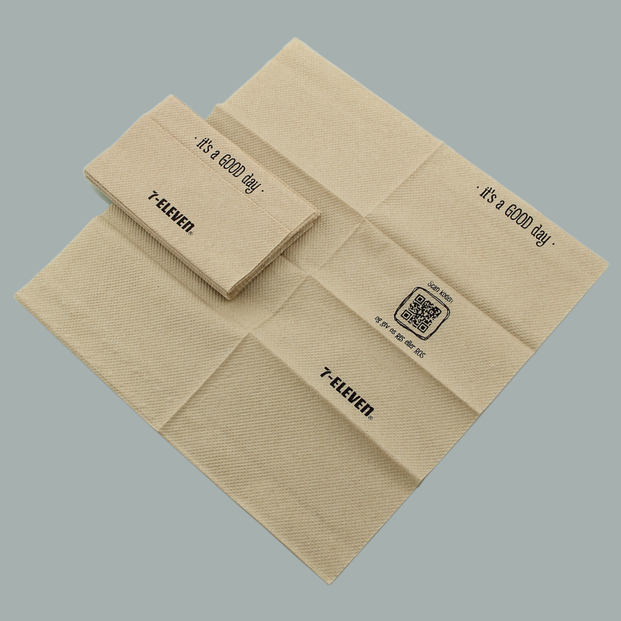 Brown Napkin Paper