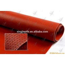 0.4mm temperature resistance silicone rubber coated colored fiberglass clothglass Cloth/Fabric in different color