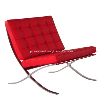 Mobília clássica moderna Barcelona Leather Lounge Chair