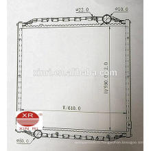 MAN L200 (93-97) MT автозапчасти алюминиевый радиатор от Китайского завода 81061016324 81061016446