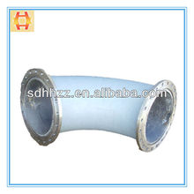 Abrasion Resistant Alumina Ceramic Lining Pipe and Elbow