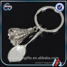 Badminton Keychain,High Quality Keychain Making Supplies