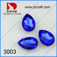 Perles de bijoux en cristal larme