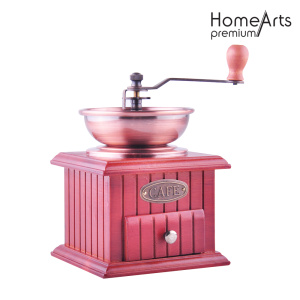 Pink Manual Ceramic Core Coffee Grinder