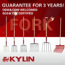 Wholesale Garden Steel Farming Fork With 4 Tines Made In China