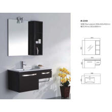 Modern Solid Wooden Bathroom Cabinet