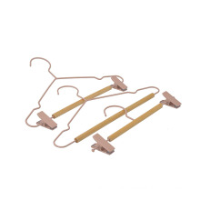 Fashion cloth hanger metal Wire Drying Rack Metal hangers for adult clothing