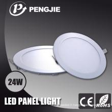 Panneau lumineux carré de 24W LED pour l'intérieur