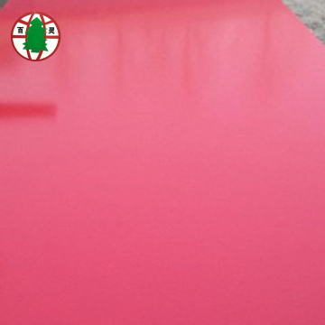 Good Quality Melamine Solid Colors Laminated MDF Board