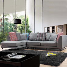 Corner Fabric Sectional L Shape Sofa Set