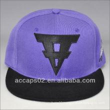 factory snap back flat brim hats