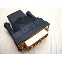 HDMI macho para adaptador DVI-D fêmea