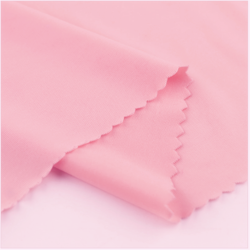 Smooth Dyed Plain Knitted Ice-silk Fabrics For Mask