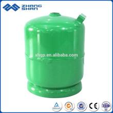 ISO Standard 3kg LPG Gas Cylinder Bottle for Kitchen Cooking