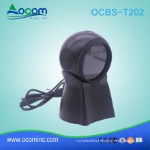 OCBS-T202 2D QR Omni Directional Barcode Scanner For RetailStroe/Supermarket