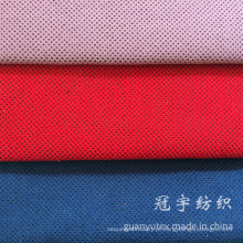 Tecido de veludo decorativo de nylon com apoio