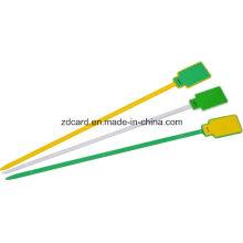 Etiqueta de cable para seguimiento de logística