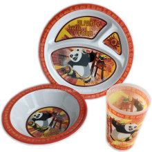 3PCS Melamin Kids Dinner Set