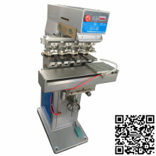 Máquina da impressora da almofada do copo da tinta da cor de TM-S4 4