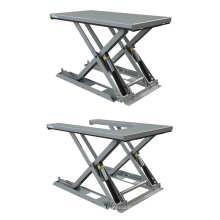 Низкие гидравлические столы для сборки