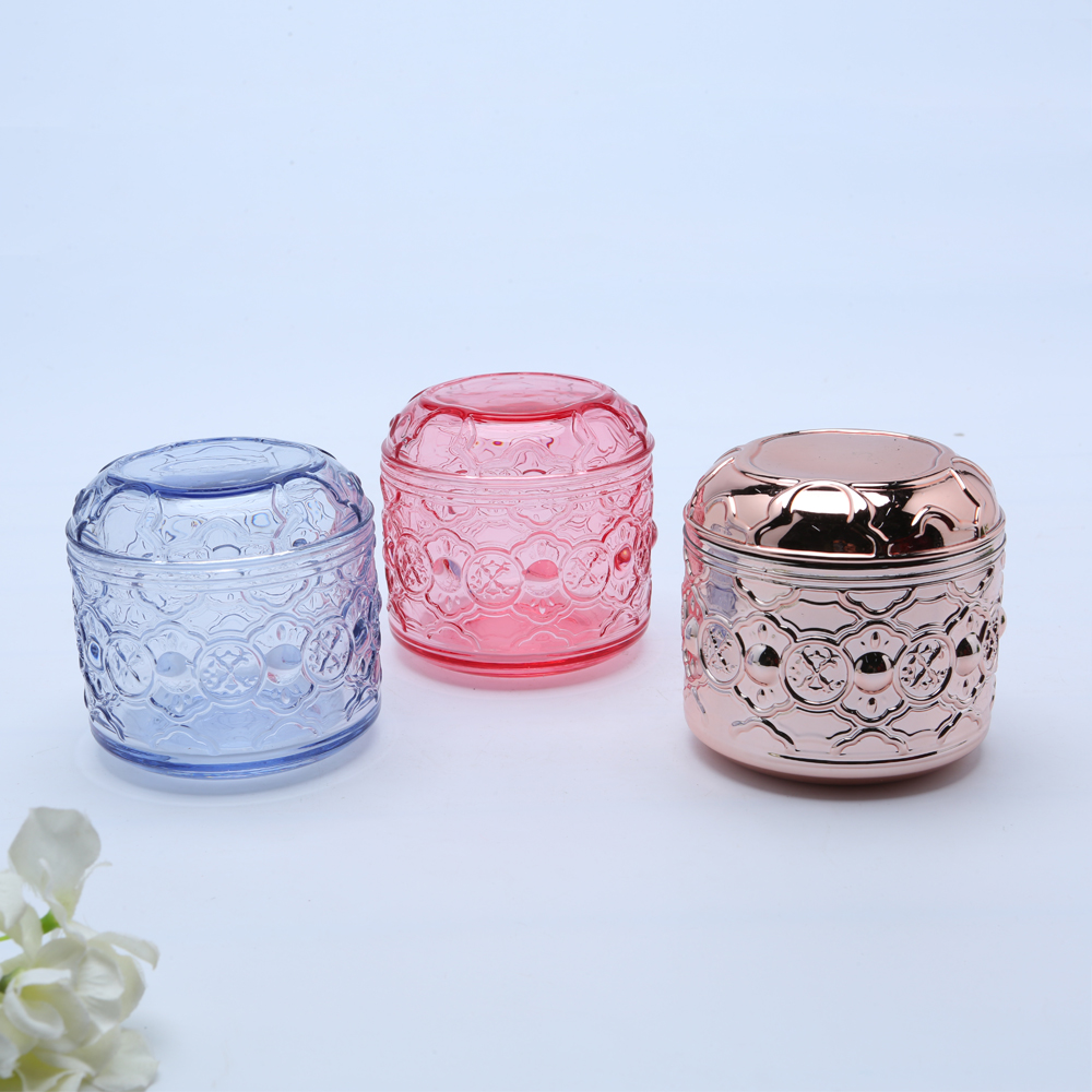 colored Glass Container