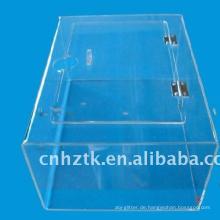 transparente acrylsüßigkeitskiste für supermarkt