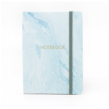 Custom Hard and Soft Marble Cover Planner School Print Notebook for Student