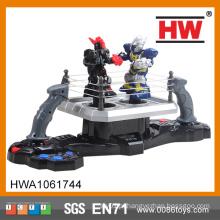 De alta qualidade de plástico de bateria operado robô mini-boxe