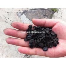 cáscara de nuez carbón activado granular para purificación de aire y tratamiento de gases