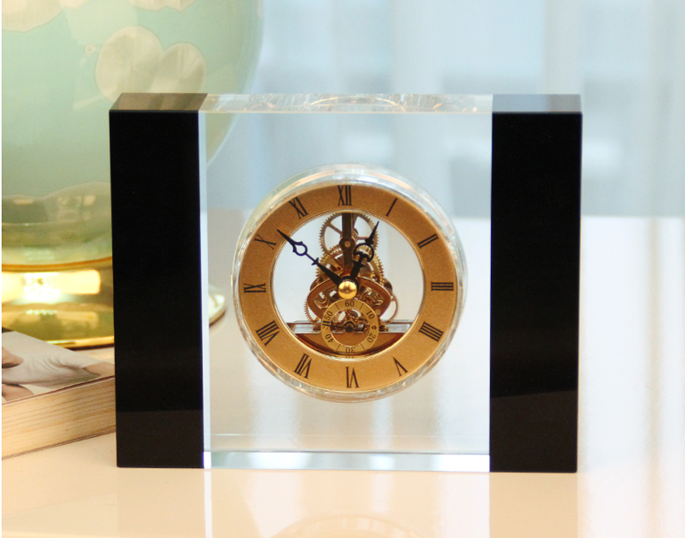 Acrylic Tabletop Clock
