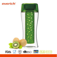 Everich Nuevo Tritan Eco-Friendly BPA Free Fruit Infuser botella de agua