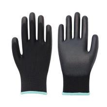 13 Gauge Polyester/Nylon Polyurethane Dipping PU Coated Gloves