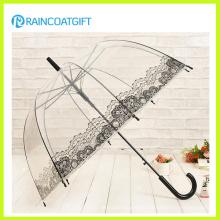 Straight Advertising Transparent PVC Umbrella
