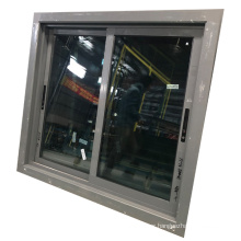Reflective tempered glass aluminium profile small sliding windows