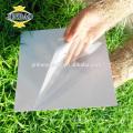 JINBAO 0.5MM 0.8MM 1 1.5mm 2 side glue size customize black pvc sheet price