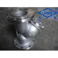 Aço inoxidável 304 / 316L tipo Y filtros / filtros
