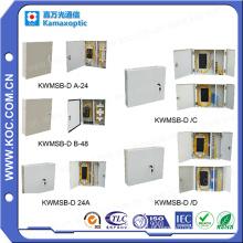 Kwmsb-D Caixa de distribuição montada na parede com porta 12-72 Fibras