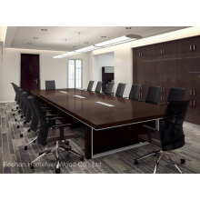 Mesa de conferência de madeira maciça de alta qualidade (HF-Ltd112)