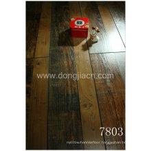 Exotic Synchronized Walnut Laminate Flooring 7803