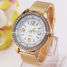 2015 new gold plated men's chinese wrist watch